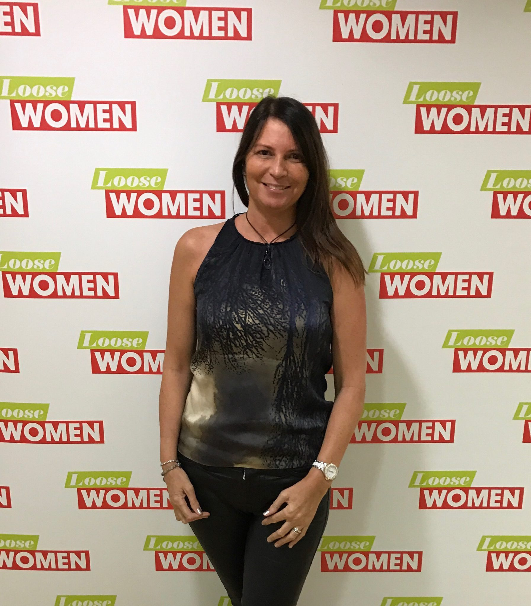 Jayne Wallace on Loose Women