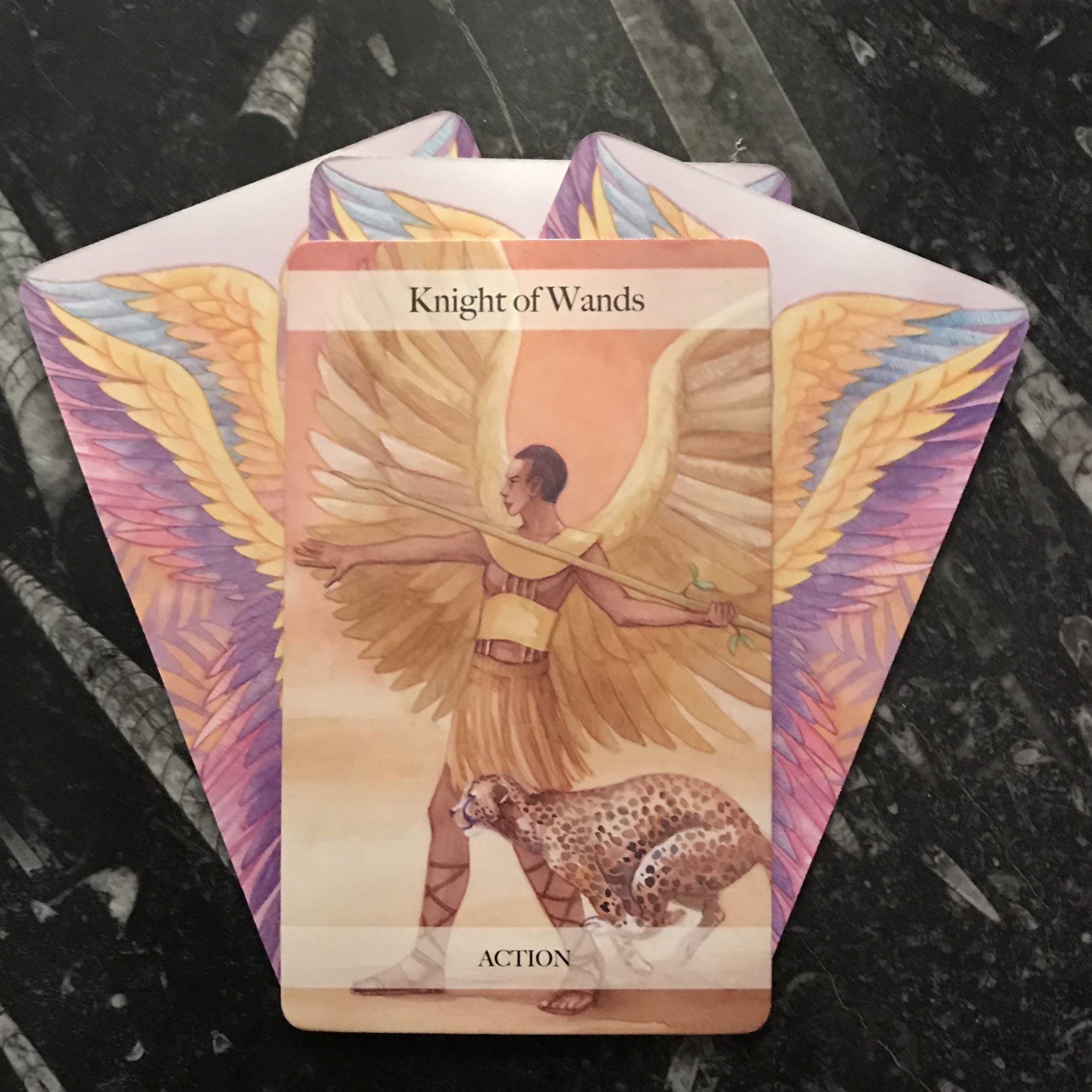 ANGEL TAROT COURSE - KNIGHT