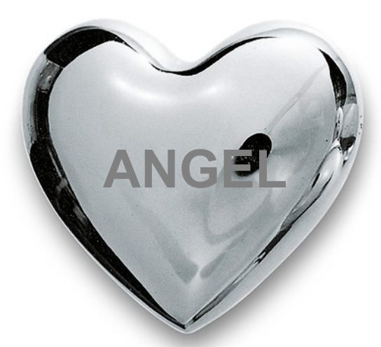 ANGEL WISHING HEART