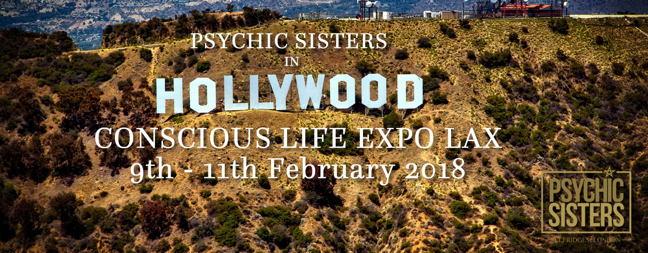 Jayne Wallace and the Psychic Sisters, Selfridges, London, Aura Reading, Clairvoyance Reading Hollywood LAX
