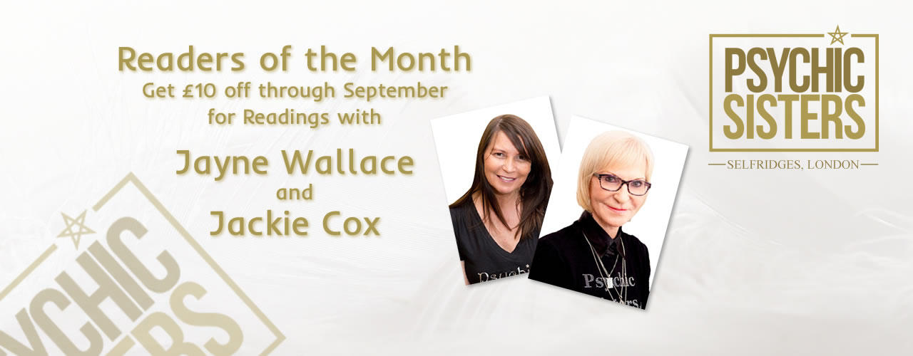 Jayne Wallace and the Psychic Sisters, Selfridges, London, Aura Reading, Clairvoyance Reading August Sue Phillips and Anne Thomas