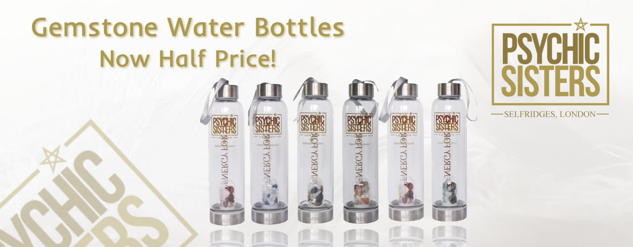 Jayne Wallace and the Psychic Sisters, Selfridges, London, Aura Reading, Clairvoyance Reading Get £20 off Our Gemstone Water Bottles