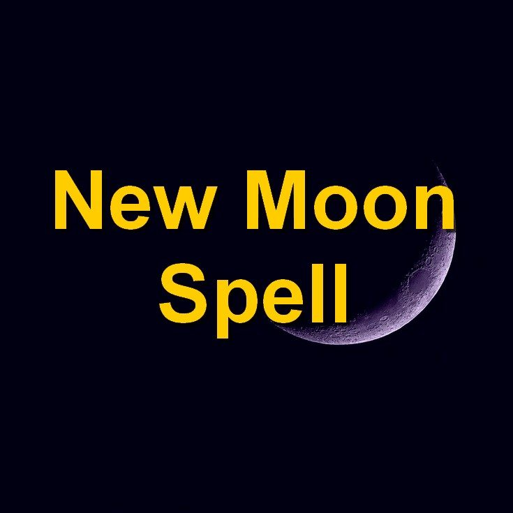 New Moon Spell Letting Go