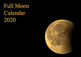 Full Moon: 9th March 2020