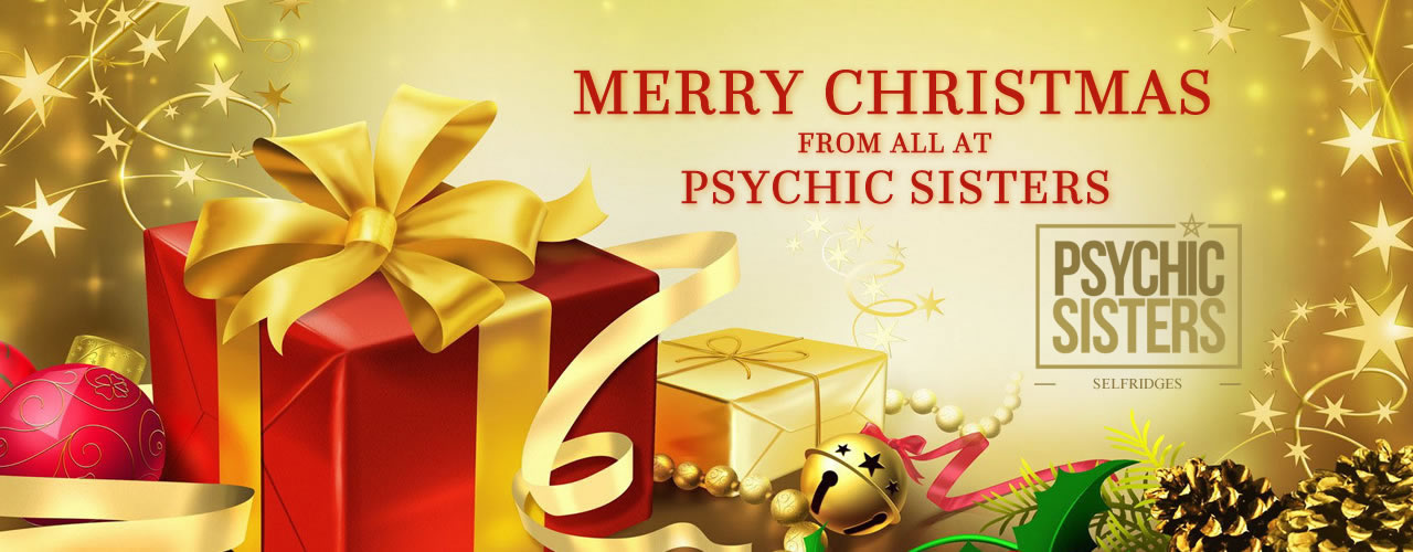 Jayne Wallace and the Psychic Sisters, Selfridges, London, Aura Reading, Clairvoyance Reading Happy Christmas from Psychic Sisters