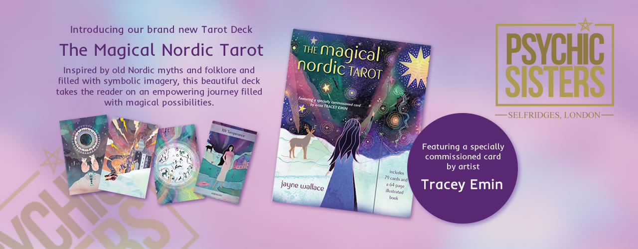Jayne Wallace and the Psychic Sisters, Selfridges, London, Aura Reading, Clairvoyance Reading The Mgical Nordic Tarot